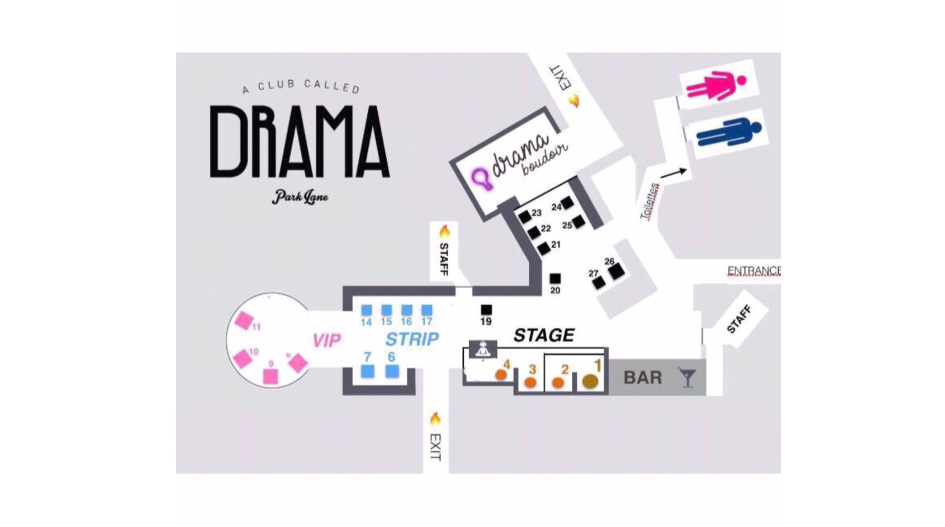 drama table map